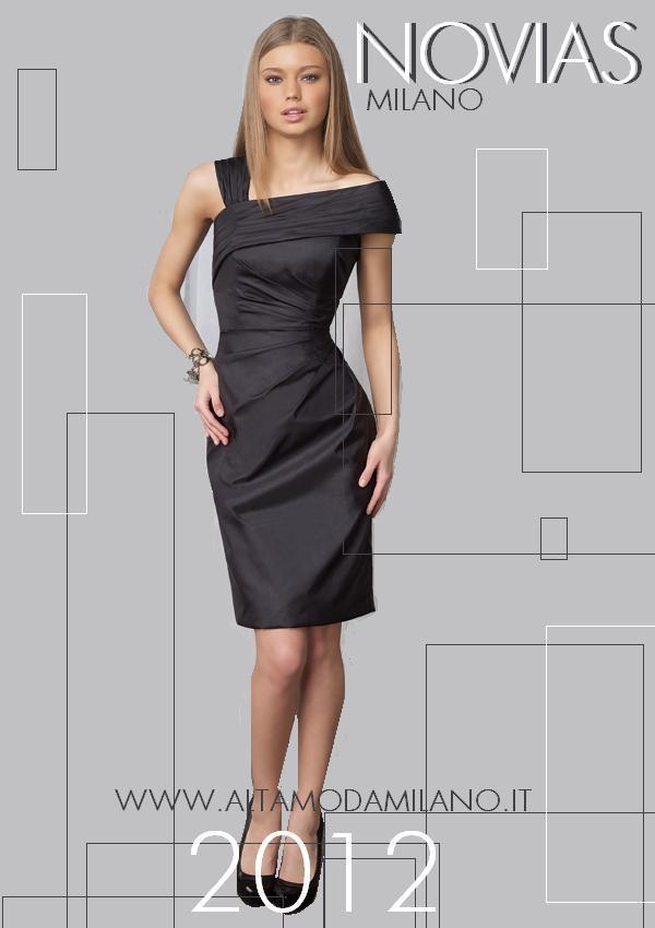 4659343e3fd4 SIMBIOSI tra femminilità ed ELEGANZA gli abiti da sera corti made in milano  NOVIAS 2012