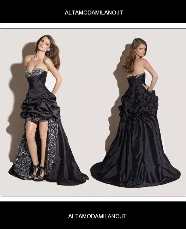 066353c056cc abito donna nero. Abiti da cerimonia milano ALTAMODAMILANO.IT corso Venezia  29 TEL 02 76013113