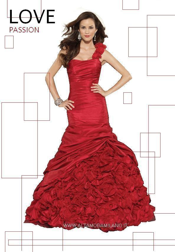 new styles e174a ea6b1 Abiti da sera ROSSI per l'abito da sposa o per uno splendido ...